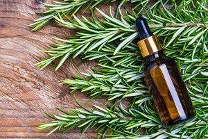 Rosemary oil.