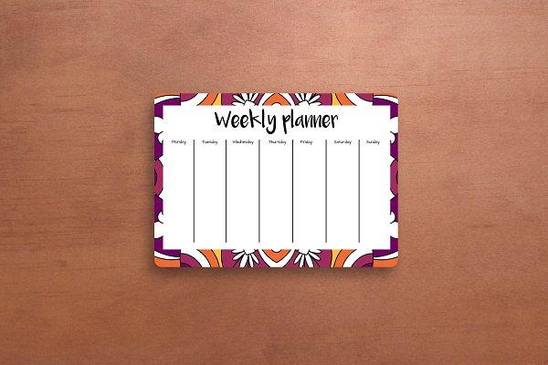 Big bundle weekly+daily planner set