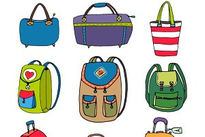 Luggage Bags, Backpacks & Suitcases