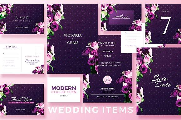 Modern Wedding Collection 10