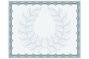 Certificate Template Diploma Background