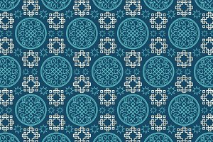 Chinese pattern, interior design 2