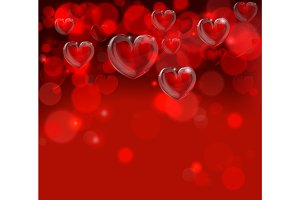 Valentines Day Background Header