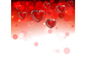 Valentines Day Header Background