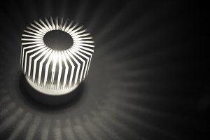 Light rays...