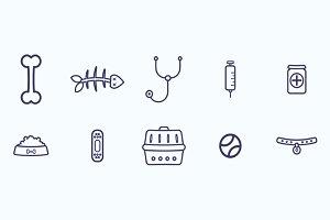 Vet icons