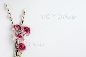 Styled Floral Desktop - Stock Photo