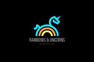 Unicorn Rainbow logo