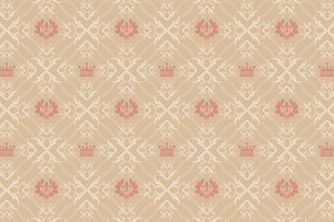 Vector seamless pattern, vintage