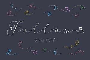 Follow script