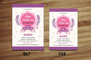 Mother's Day Flyer Template-V549