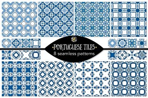 Set 58 - 8 Seamless Patterns