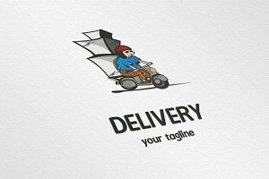 Delivery • logo template