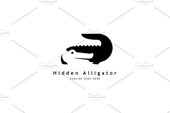 Alligator Logo Templates Creative Market