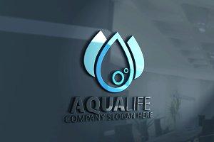 Aqua Life Drop Logo