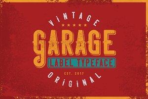 Garage typeface