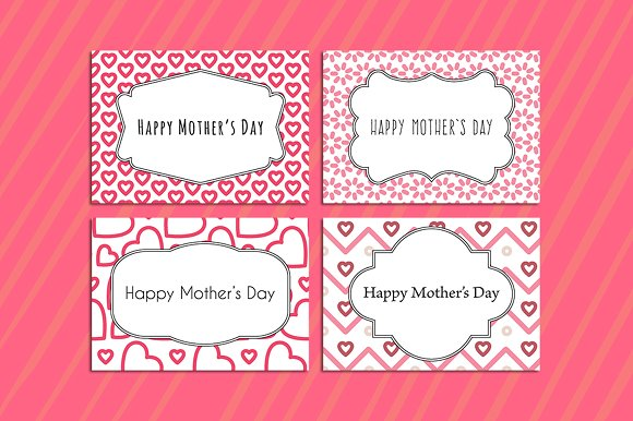 Mothers day flower cards
