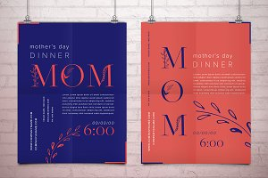 Mother day posters