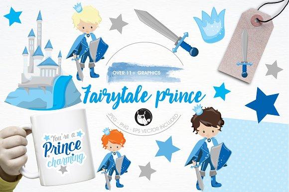Fairytale Prince Illustration Pack