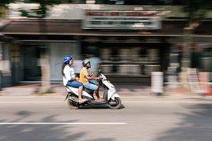 Sri Lanka. Hikkaduwa. Passenger TIFF