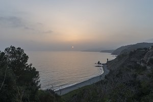 Beaches of Malaga Andalucia Spain