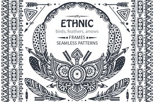 Ethnic graphic collection
