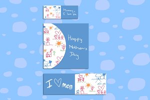 Mothers day childs pattern smvp