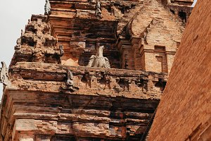 Po Nagar Cham Towers Pagoda