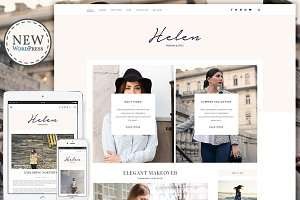 Helen - Responsive WordPress Theme