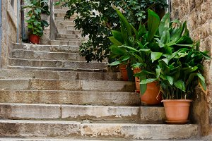 Dubrovnik. Alley