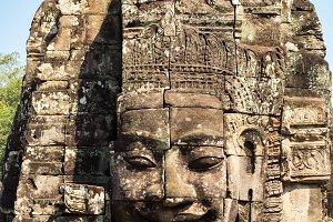 Ankor Thom in Cambodia