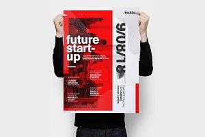 Future Startup Flyer