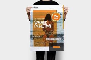 Fshn : Summer Collection Flyer