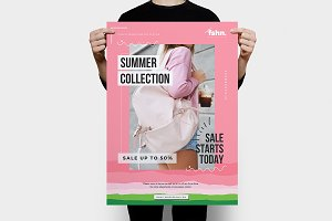 Fshn : Summer Sale Flyer