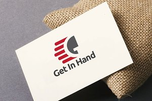 Get in Hand G Text Logo