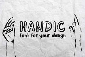 HANDIC FONT