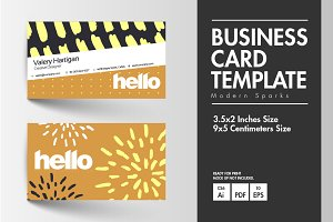 Business Card - Modern Sparks