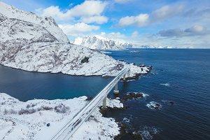 Lofoten Islands, view from above