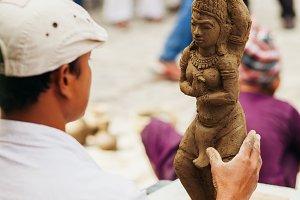 clay sculptor