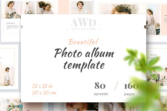 Photo Album Template AWD