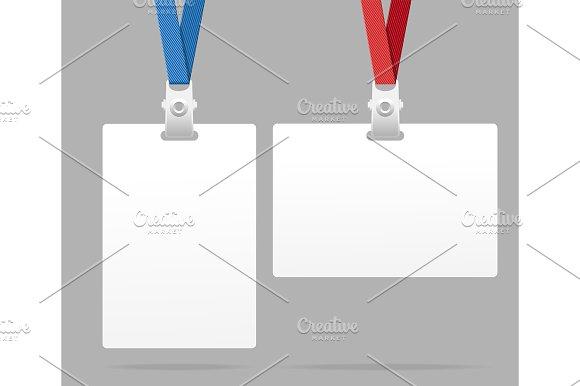 Id Card Template Plastic Badge
