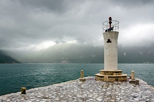 Lighthouse on the Bay of Kotor