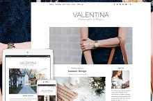Valentina - Premium WordPress Theme