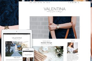 Valentina - Premium WordPress Theme
