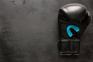 one boxing glove