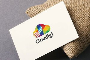 Cloud Digital Logo