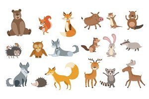 Forest Animals Set