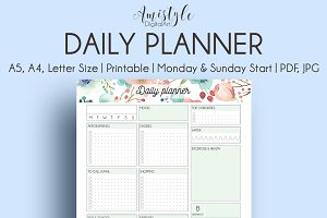Daily Printable Planner