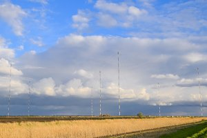 "Towers of long-wave communication ""Goliath"". Radio equipment for"