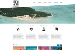 Quattro - WordPress Business Theme